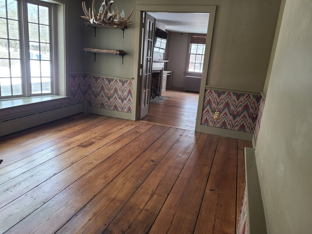 Rustic Pine with Custom Stain