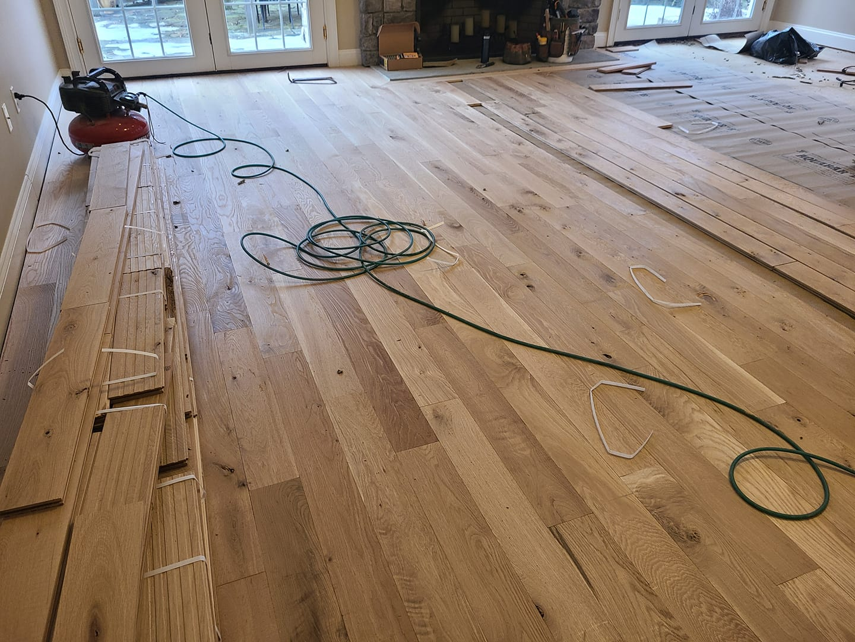 Character Marked White Oak Hardwood Flooring