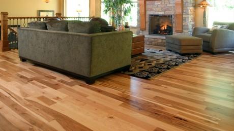 hickory natural hardwood flooring